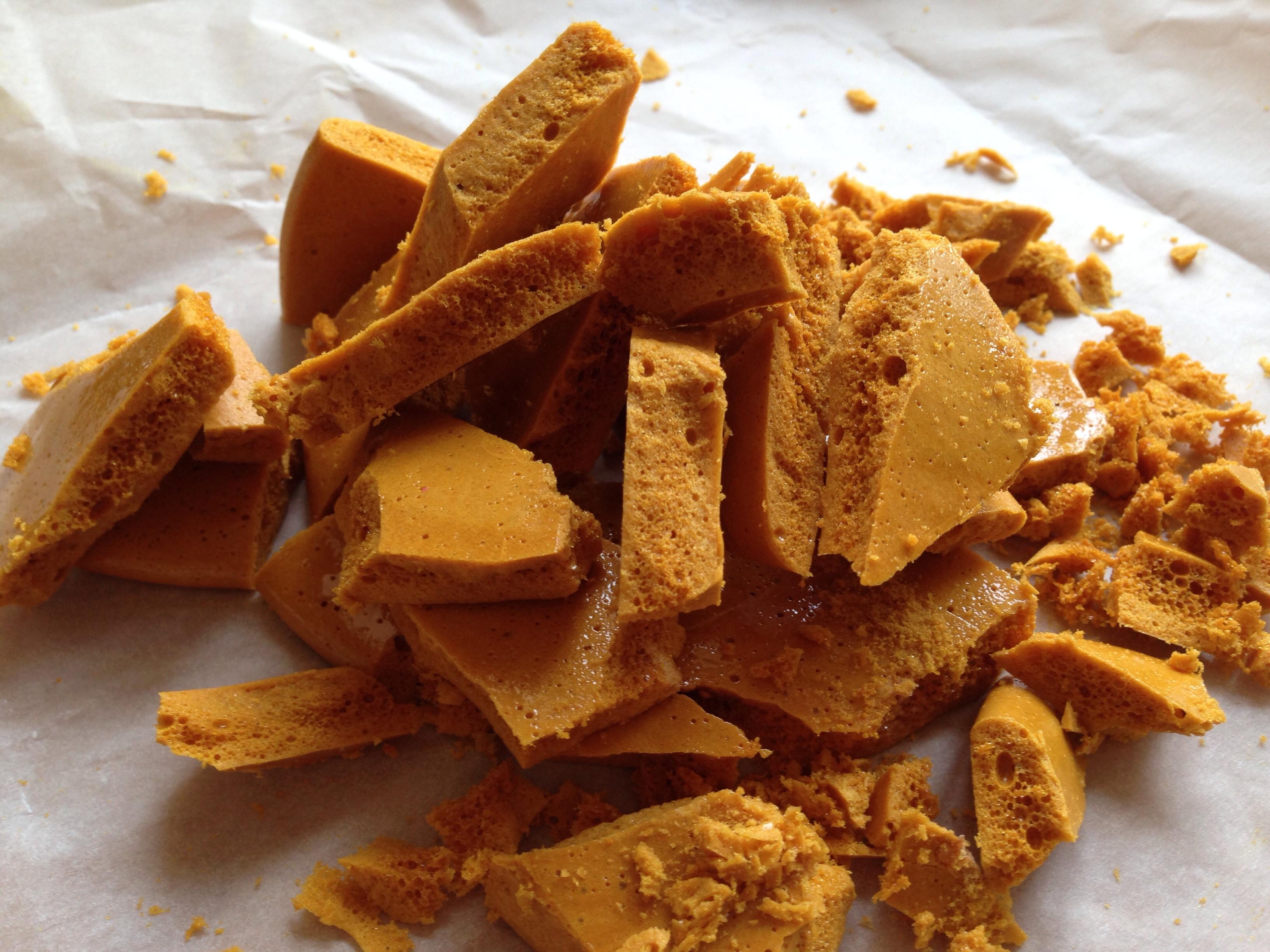 shards of honeycomb