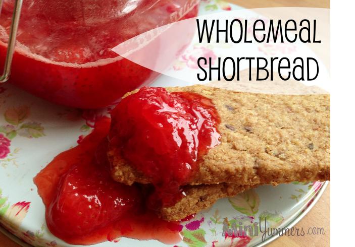 Wholemeal shortbread recipe