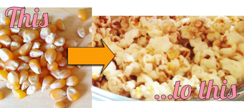 popcorn transform