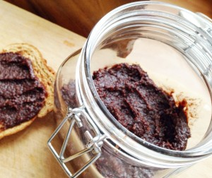 Your chocolate spread tastes great on toast, pancakes, or as a dip