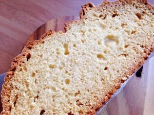 air bubbles in soda bread