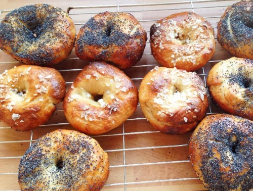 Bagels that kids can make