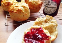 making fluffy scones is easy when you use science