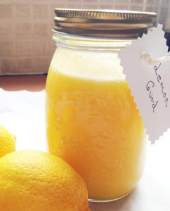 Lemon curd is an easy to make gift