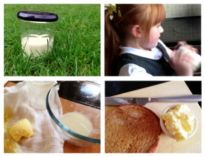 butter making