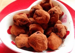 easy to make truffles