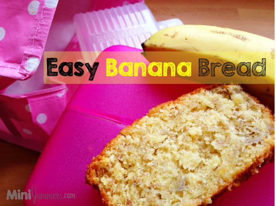 Easy Banana Bread Recipe for Kids