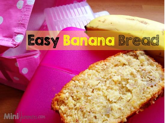 Easy Banana Bread Recipe for Kids