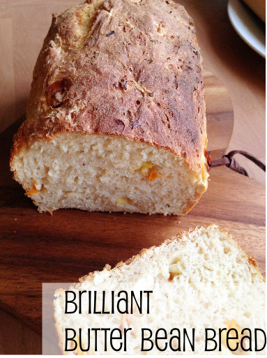 Brilliant Butter Bean Bread--Healthy White Bread