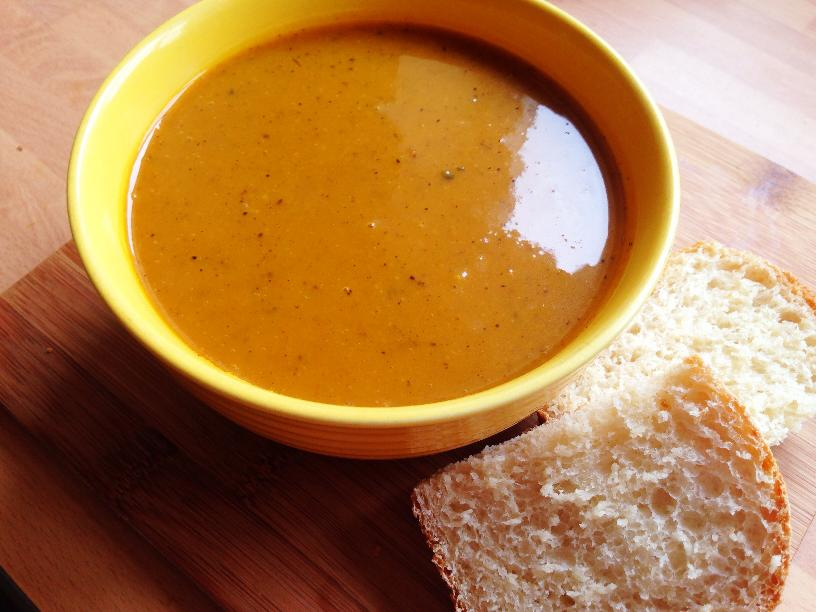 Butternut squash soup--great for kids