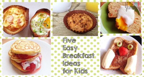 easy to make kids breakfasts