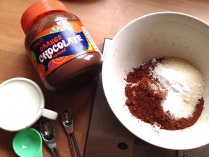 mug-cake-ingredients
